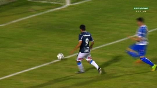 """Zé Roberto celebra gol pelo São Bento: """"Centroavante só estreia quando marca"""""""