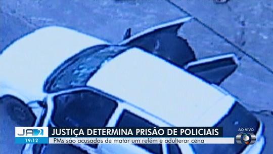Justiça determina prisão preventiva de PMs acusados de homicídio e adulteração da cena do crime, em Senador Canedo