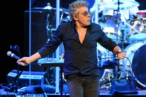 O músico Roger Daltrey em um show recente do The Who (Foto: Getty Images)