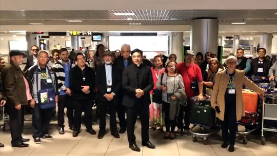Após susto com turbina em chamas durante voo na Europa, padre brasileiro agradece: 'Intercessão dos Mártires'
