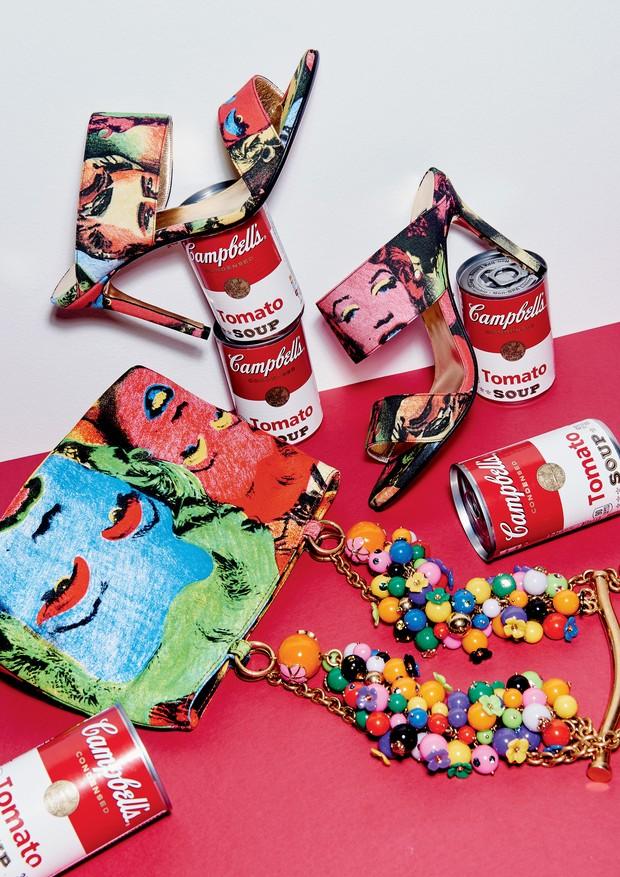 Versace R$ 2.960 (sapato) R$ 16 mil (bolsa) (Foto: Thiago Justo)