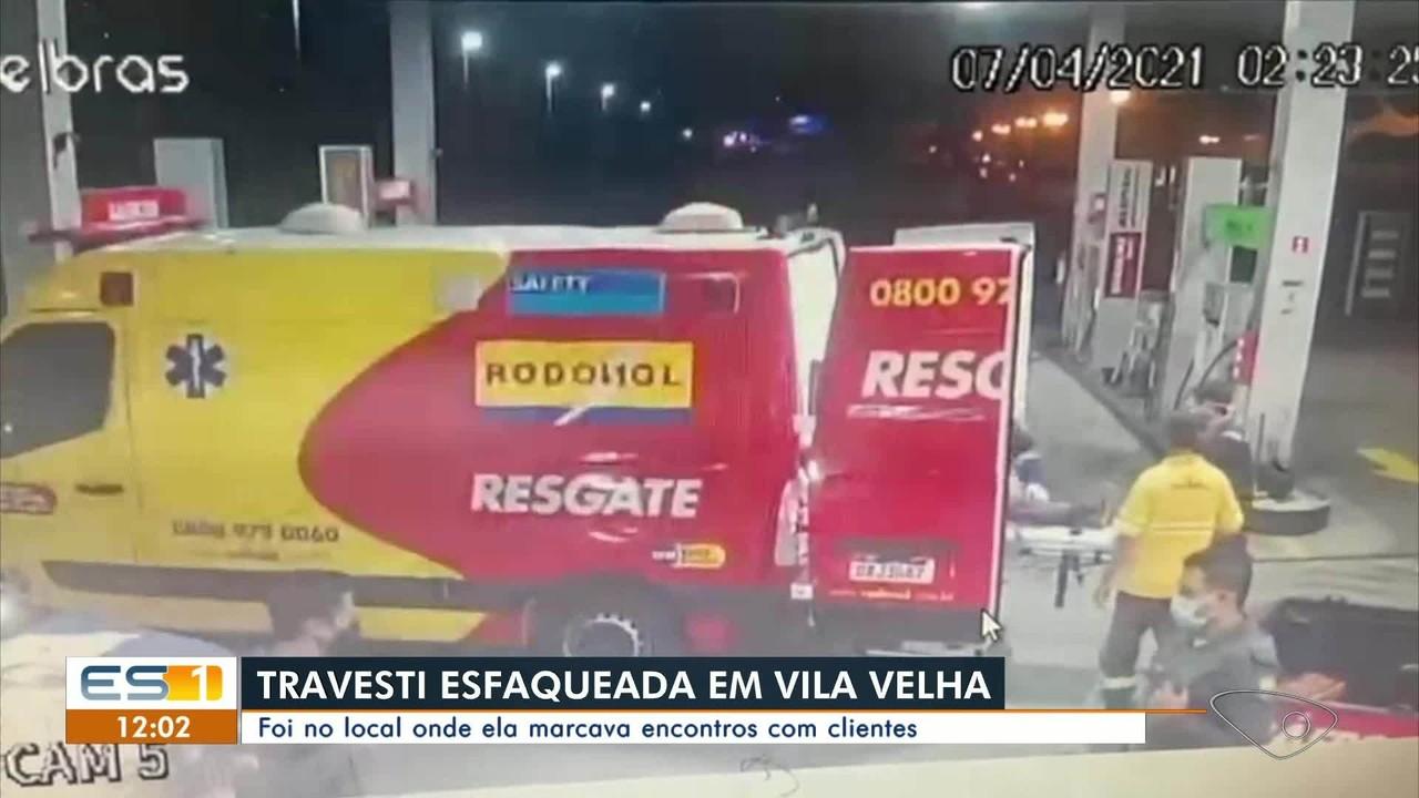 Travesti é esfaqueada em Vila Velha