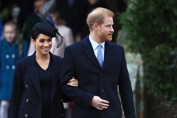 Meghan Markle e o marido, o Príncipe Harry (Foto: Getty Images)