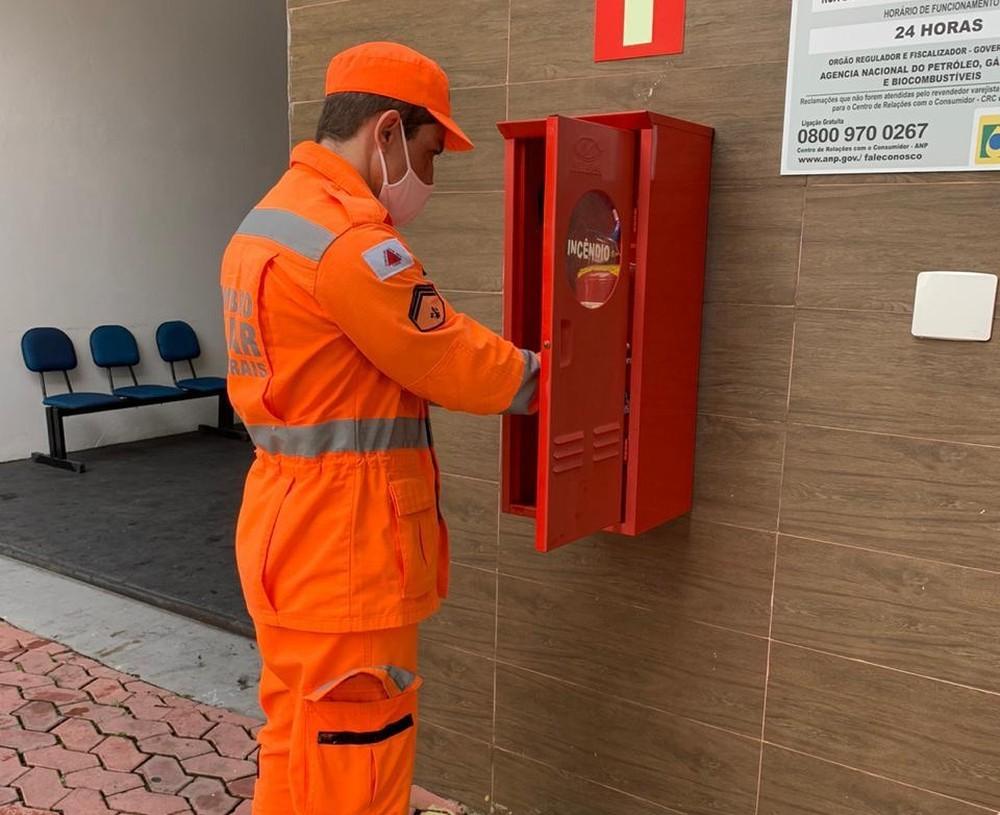 Operação 'Alerta Vermelho': bombeiros encontram irregularidades em mais de 10 postos de combustíveis na Zona da Mata