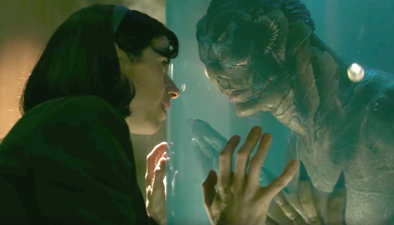 Uma cena de A Forma da Água, de Guillermo del Toro (Foto: Reprodução)