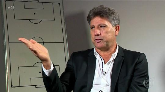 """Com amor pelo Grêmio e carinho pelo Fla, Renato escolhe seu lado: """"Quando entro numa parada, entro para ganhar"""""""