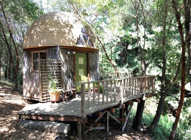 Casa Cabine, Aptos, CA, Estados Unidos (Foto: Airbnb/Reprodução)