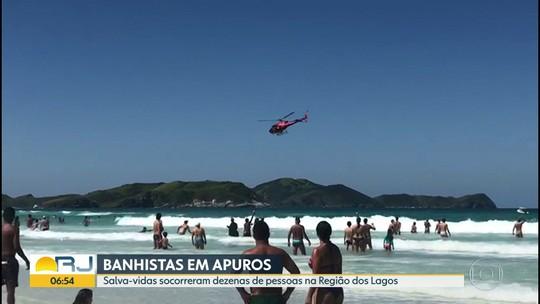 Bombeiros fazem 241 salvamentos a vítimas de afogamento em praias durante o feriado