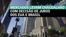 Mercados levam chacoalhão com decisão de juros dos EUA e Brasil