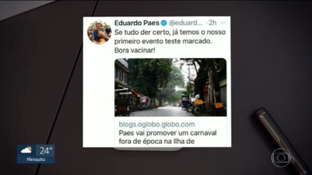 Moradores de Paquetá criticam 'carnaval fora de época' na ilha: 'Nada para comemorar'