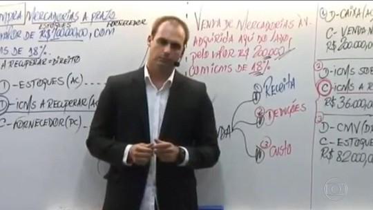 Em vídeo, filho de Bolsonaro diz que para fechar o STF basta 'um soldado e um cabo'