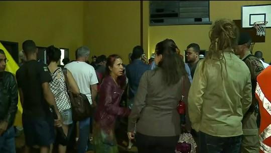 Cerca de 200 moradores de Nova Lima, na Grande BH, são obrigados a sair de suas casas por precaução com barragem da Vale