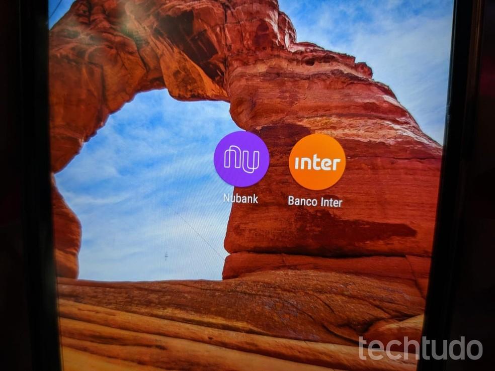 Nubank e Inter são opções de bancos digitais com contas grátis — Foto: Reprodução/Gabrielle Ferreira