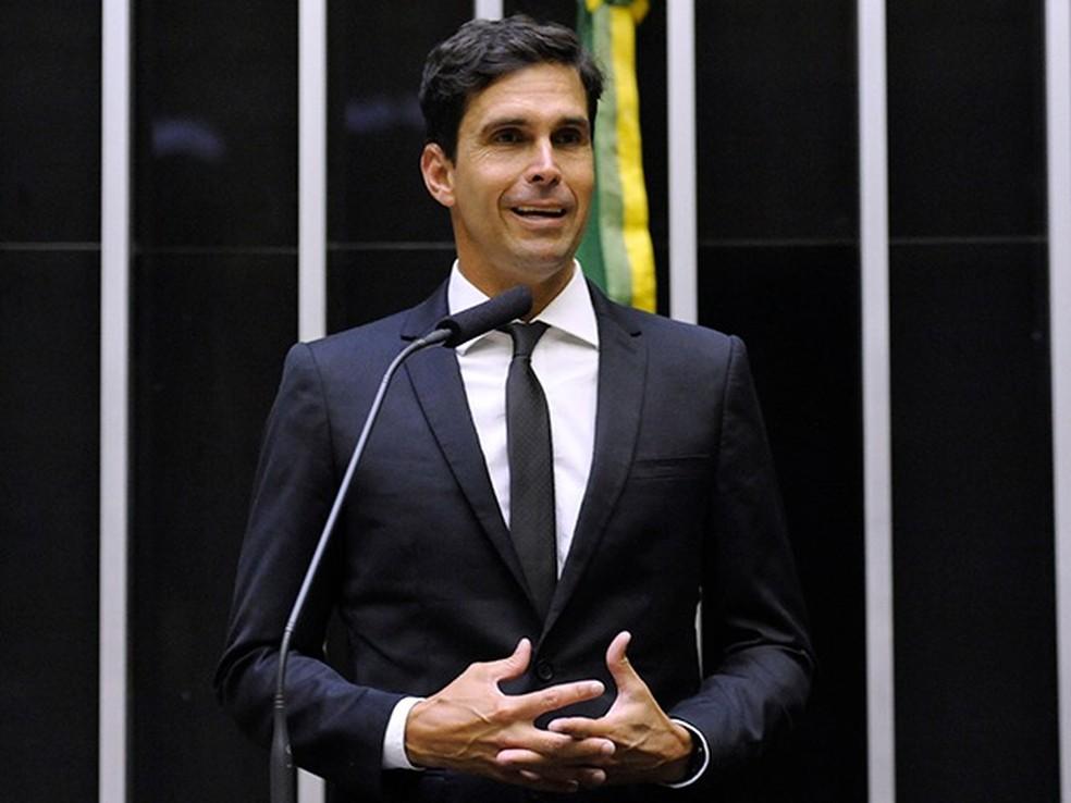 Deputado federal e ex-atleta olímpico Luiz Lima (PSL-RJ) — Foto: Câmara dos Deputados