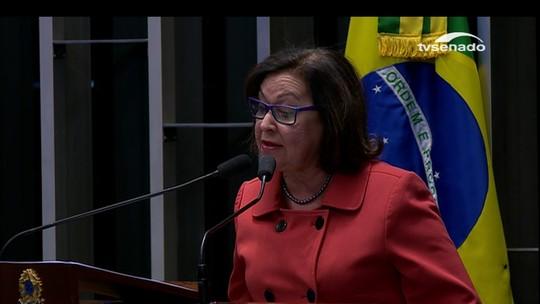 Impeachment no Senado: discurso final de Lídice da Mata (PSB-BA)