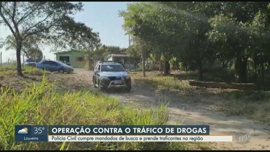 Polícia Civil e MP deflagram operação contra tráfico de drogas em Capivari e cinco cidades