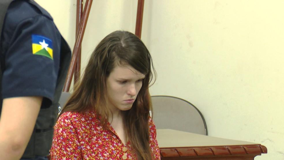 Vania foi condenada a 13 anos de prisão em primeira instância (Foto: José Manoel/ Rede Amazônica)