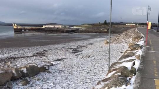 Onda de frio na Europa, chamada de Besta do Leste, deixa mais de 20 mortos
