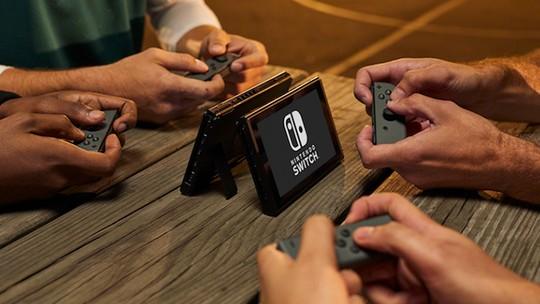 Foto: (Controles destacáveis brilham no Nintendo Switch (Foto: Divulgação/Nintendo))