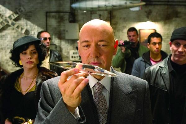Kevin Spacey como Lex Luthor (Foto: Reprodução)