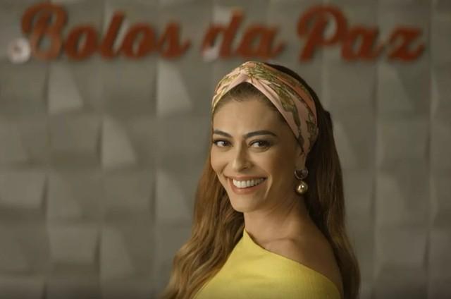 Juliana Paes em cena como Maria da Paz em 'A dona do pedaço' (Foto: TV Globo)