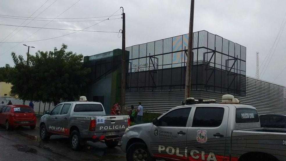 Vereadores foram presos em operação do MPCE e Polícia Civil em Itarema (Foto: Kaykon Gomez)