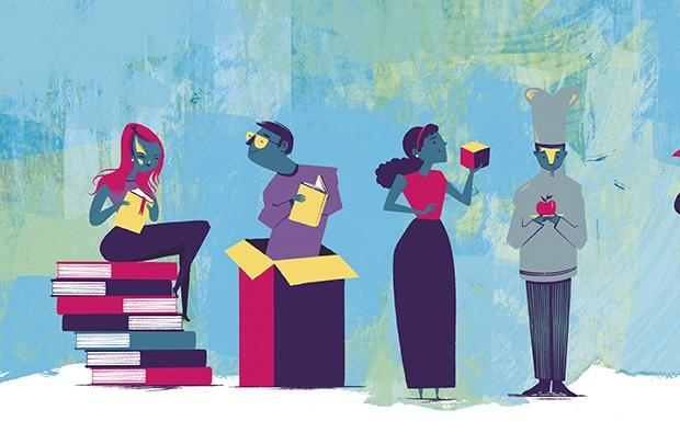 Ilustração escola (Foto: Ilustração: Weberson Santiago)