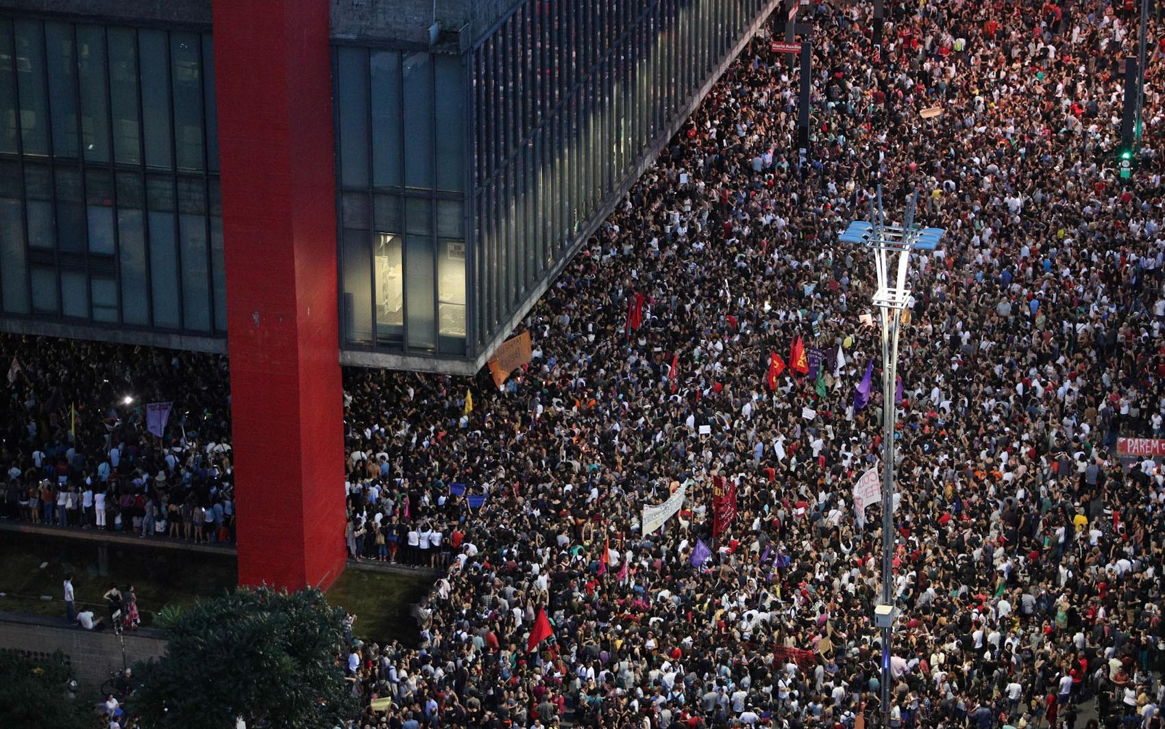 São Paulo tem ato em homenagem à vereadora Marielle Franco