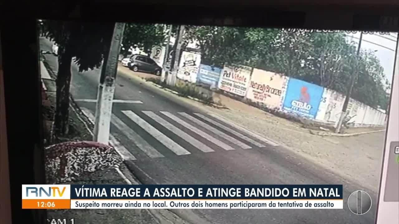 Bandido morre em tentativa de assalto em Cidade Satélite