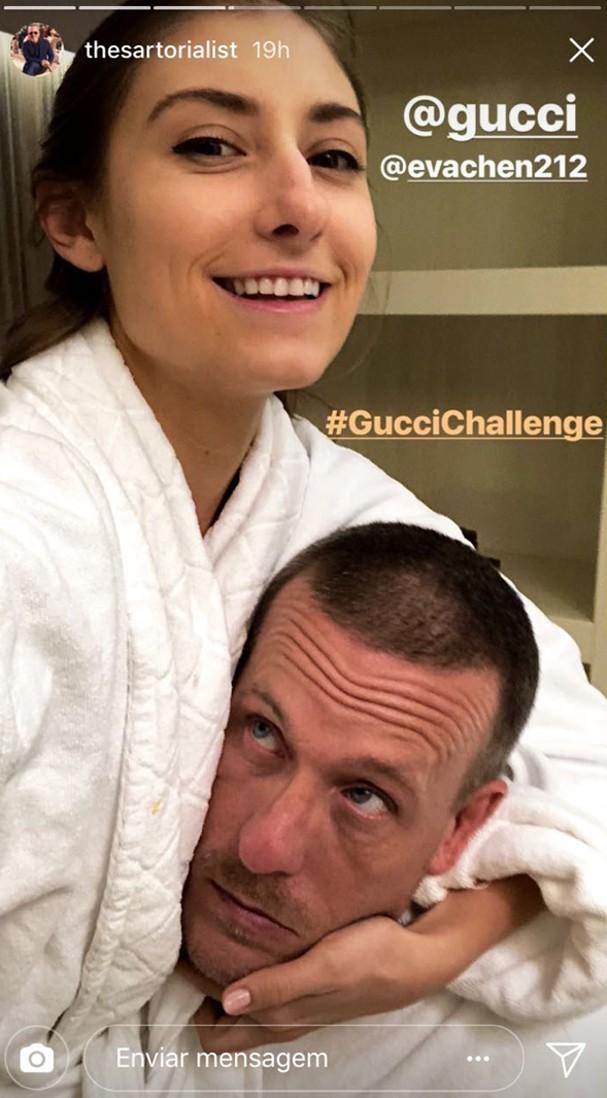 Gucci Challenge (Foto: Reprodução Instagram)