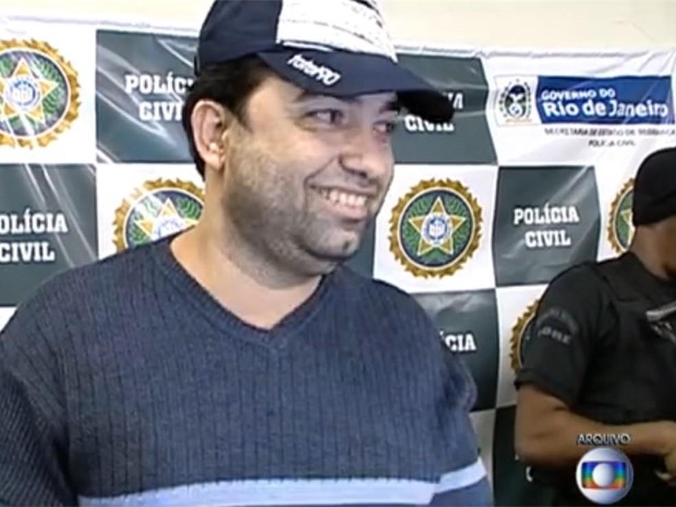 Ricardo Teixeira da Cruz, conhecido como Batman — Foto: Reprodução/ TV Globo