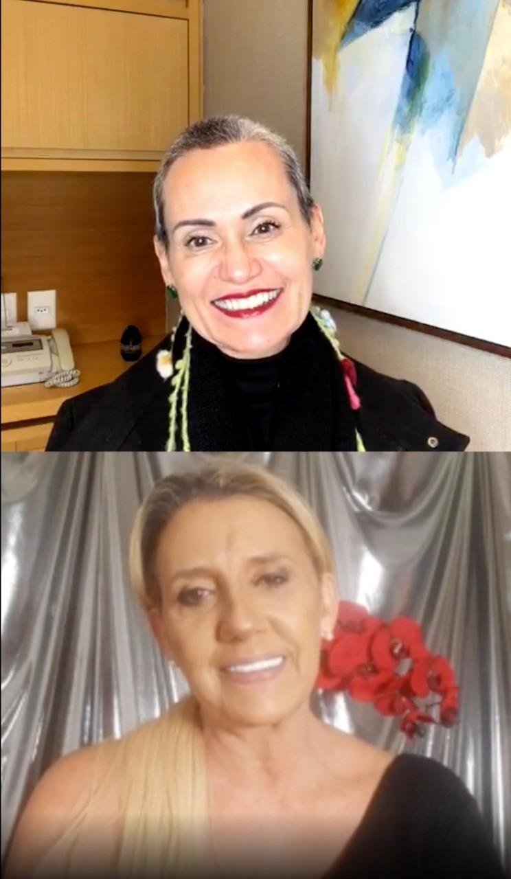Faa Morena e Rita Cadillac (Foto: Divulgação)