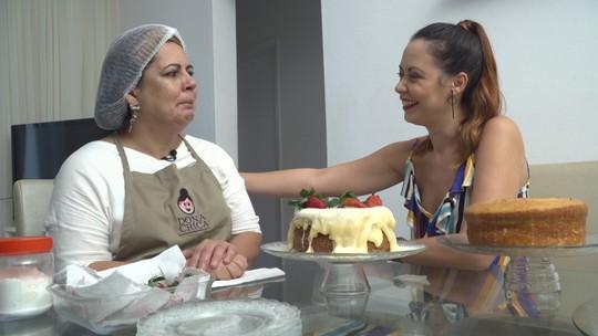 Confeiteira conta como os bolos transformaram sua vida