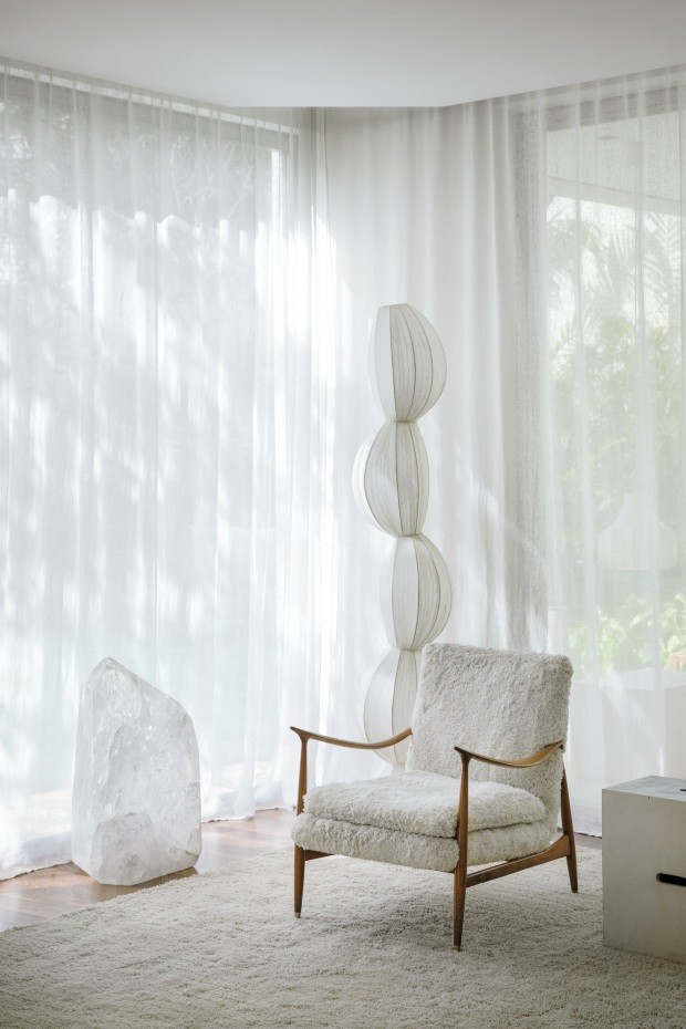 A casa de Paula Raia é um oásis de sutileza e tranquilidade (Foto: Ruy Teixeira)