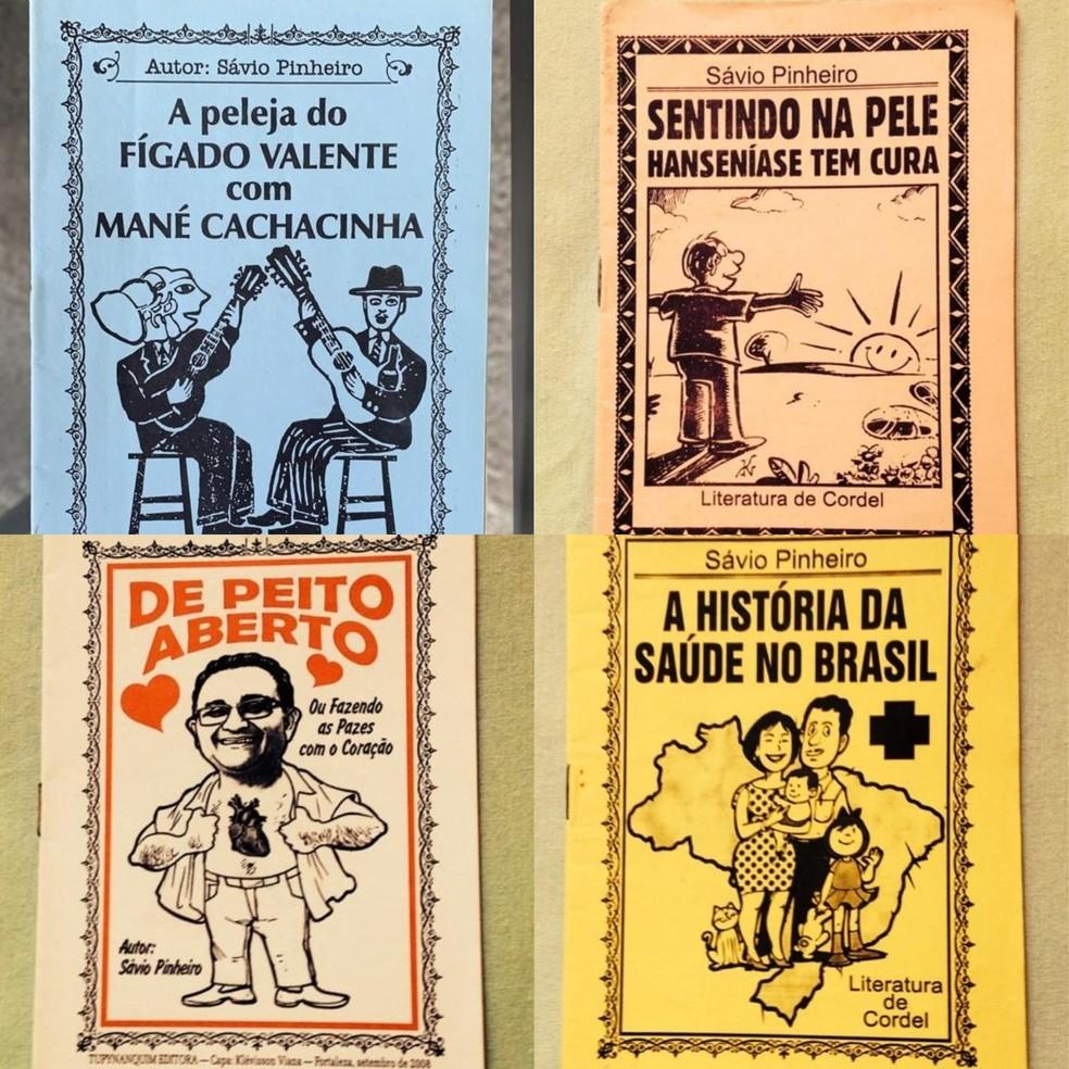Sávio já produziu cordéis sobre diversos temas e doenças. — Foto: Arquivo pessoal