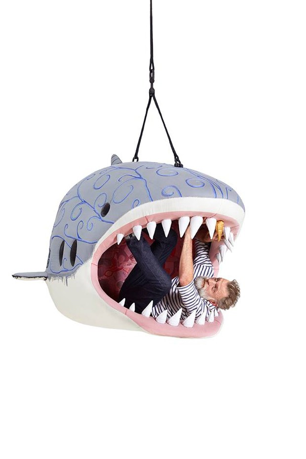 Designer cria assentos gigantes em formato de animais (Foto: Reprodução)