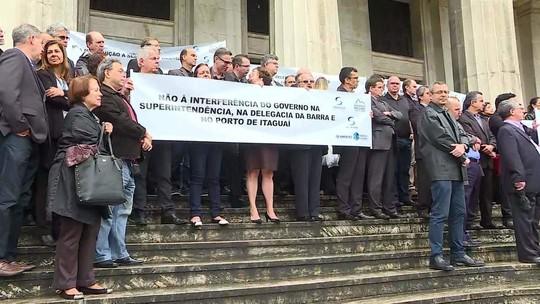 Auditores fiscais protestam em várias cidades contra mudanças na Receita