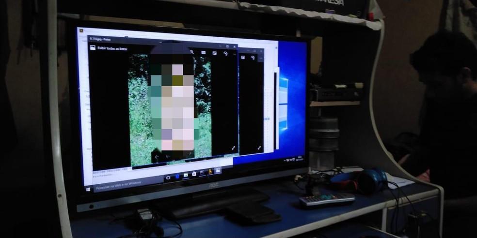 Operação foi investiga suspeitos de pornografia infantil  — Foto: Polícia Federal/ Divulgação