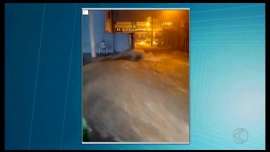 Prejuízos são registrados em cidades do Centro-Oeste de Minas devido às chuvas