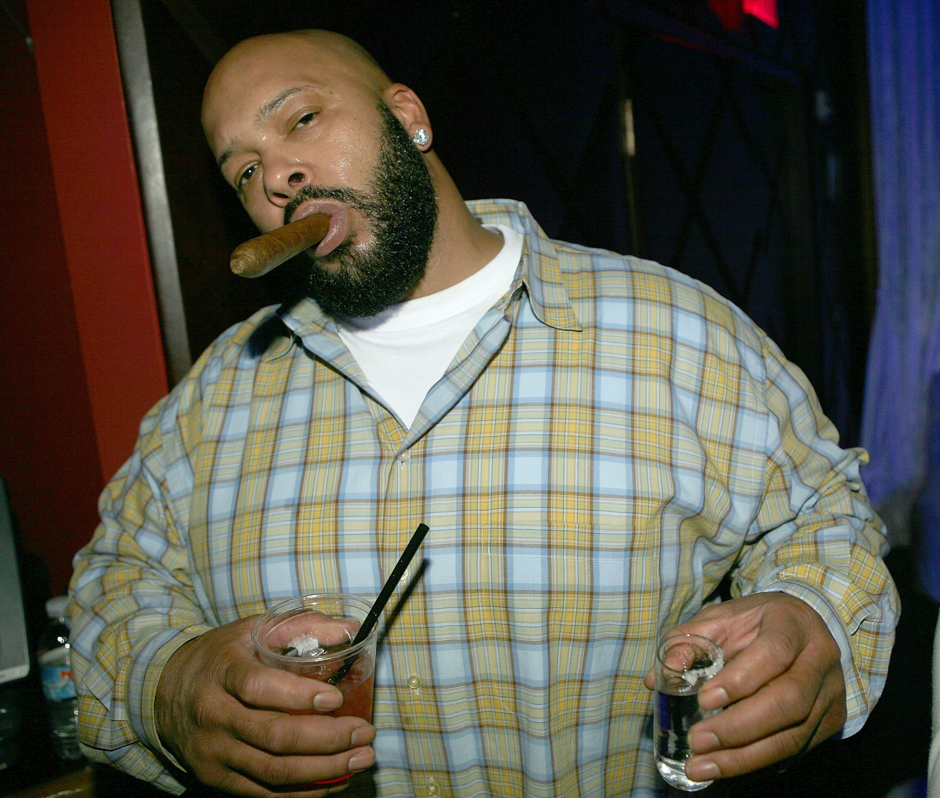 O produtor musical Suge Knight (Foto: Getty Images)