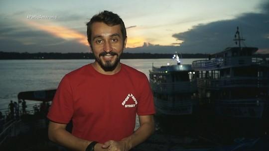 'Partiu Amazônia' relembra passeio por Porto Velho
