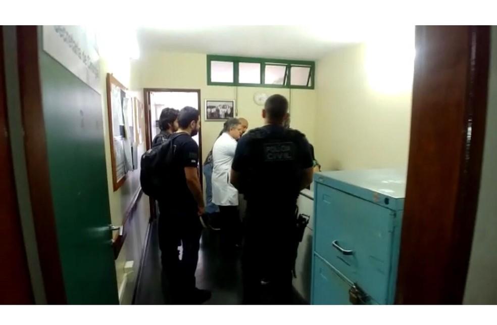 Ex-supervisora de hospital do DF Ruby Lopes é alvo de operação que investiga venda ilegal de cirurgias — Foto: Polícia Civil do DF/Divulgação