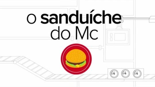 Como é montado o Big Mac? G1 mostra 'linha de produção'