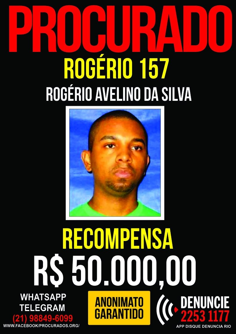 Áudio indica que Rogério 157 trocou de quadrilha
