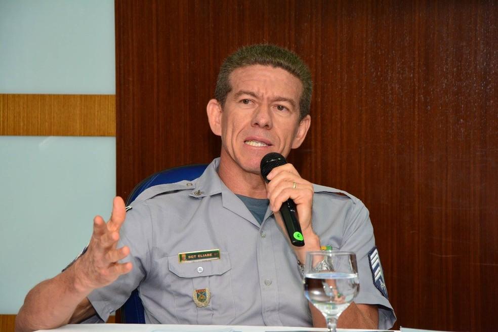 Suplente de deputado, subtenente Eliabe Marques deverá assumir vaga na Assembleia do RN em 2021. (Arquivo) — Foto: Arquivo pessoal