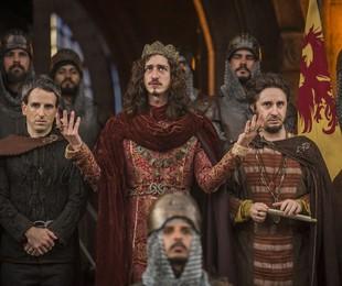 Cena de 'Deus salve o rei'   TV Globo