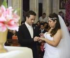 Rodrigo Andrade e Fabiana Karla em cena | Raphael Dias/ TV Globo