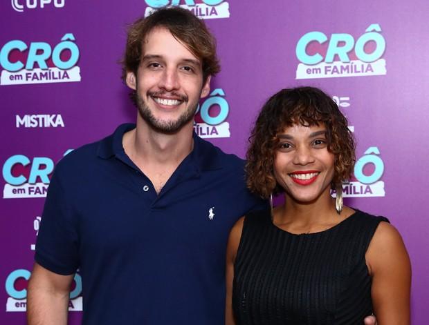 Aparecida Petrowky e Diogo D Avila (Foto: Roberto Filho/Brazil News)