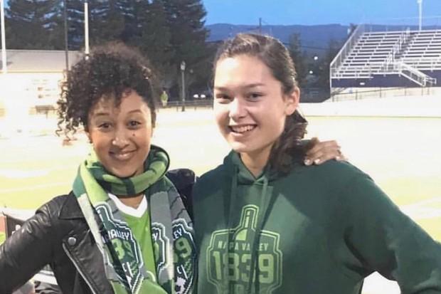 Tamera Mowry e a sobrinha Alaina Housely (Foto: Reprodução/Instagram)