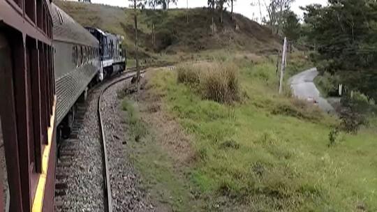 Passeio de trem será uma das atrações do  Festival do Cambuci de Sabaúna, em Mogi